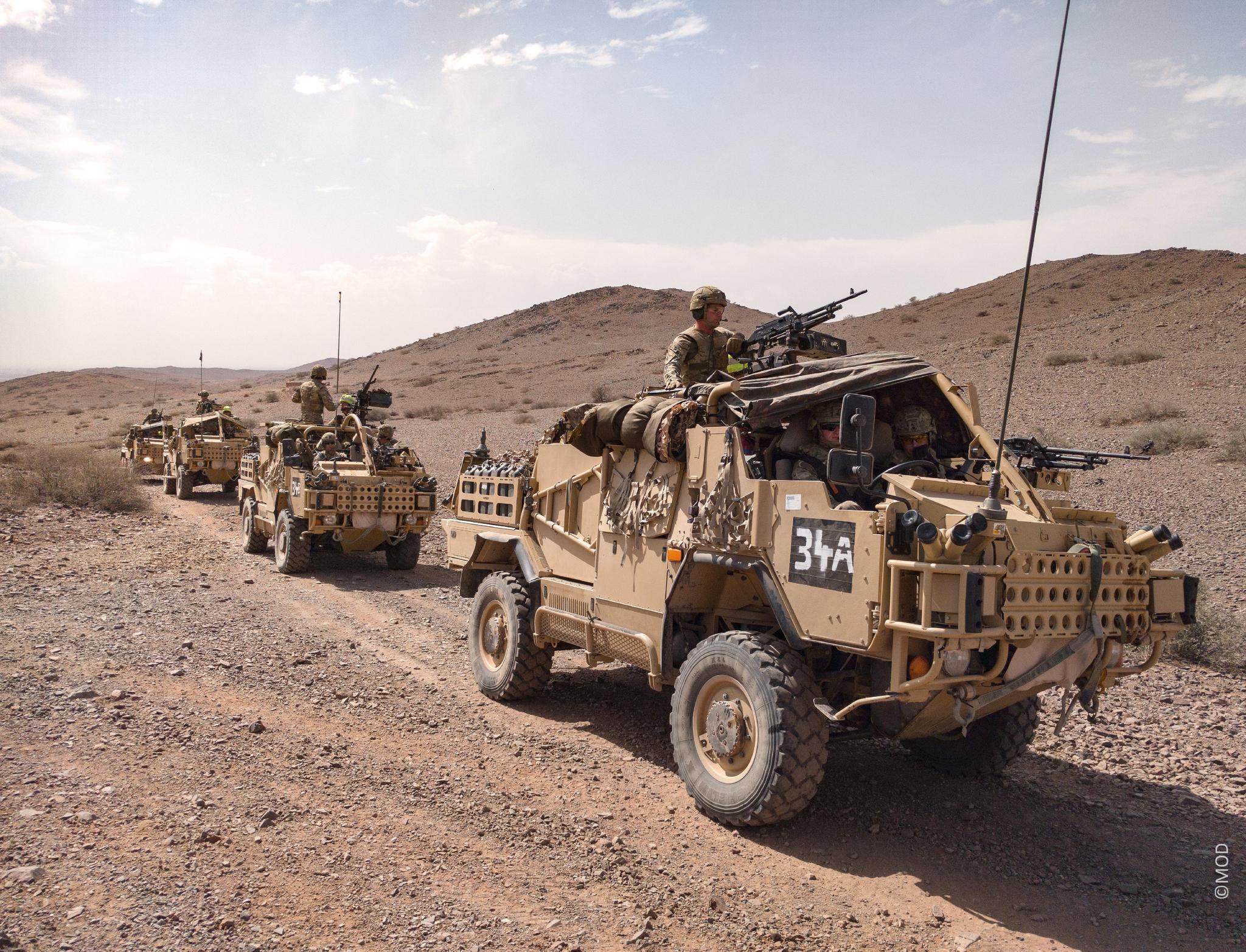 3CDSE tank camouflage desert