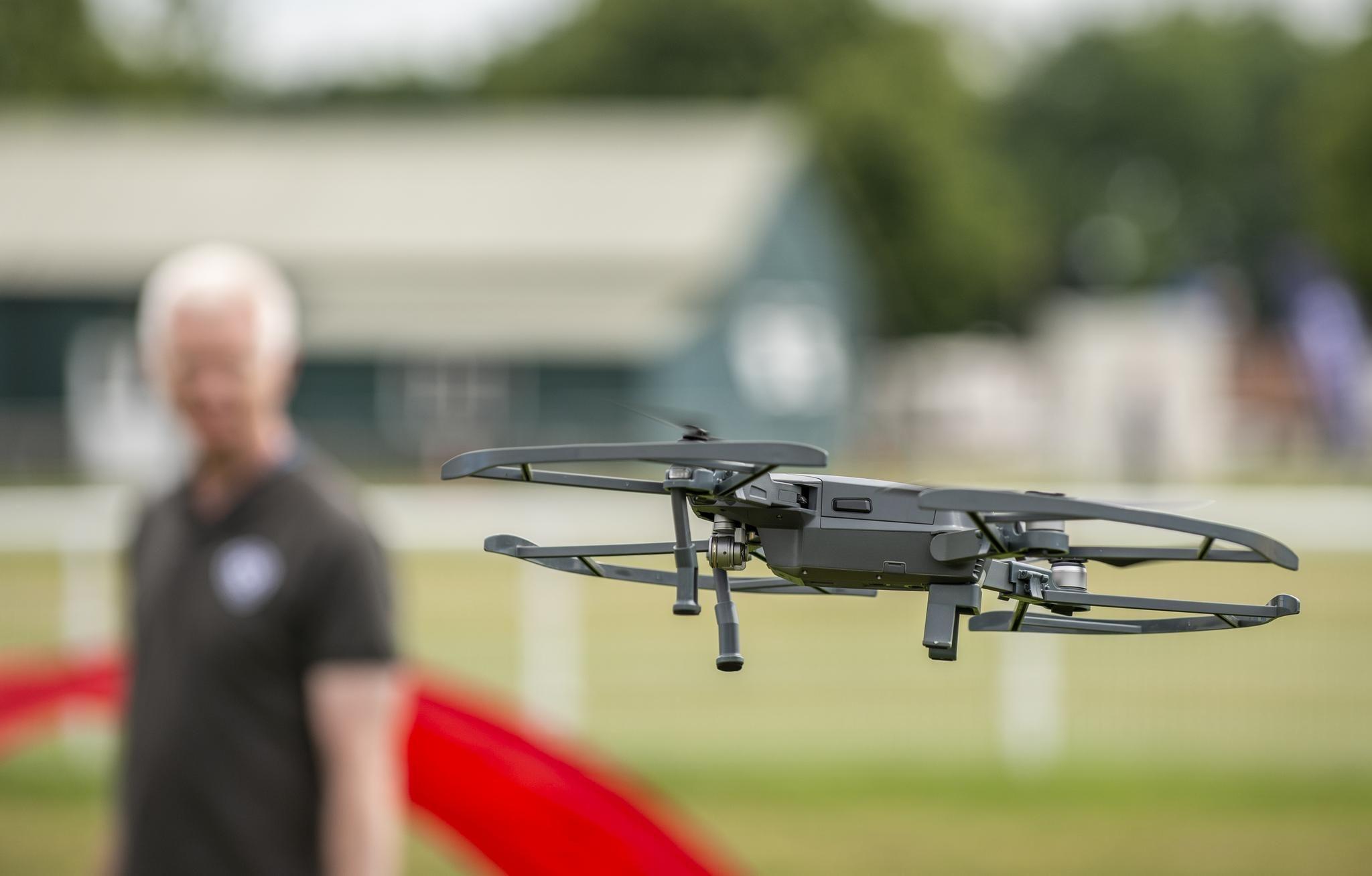 3CDSE Drone flying