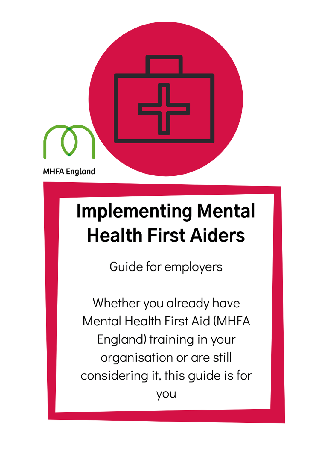 Implementing Mental Health First Aiders