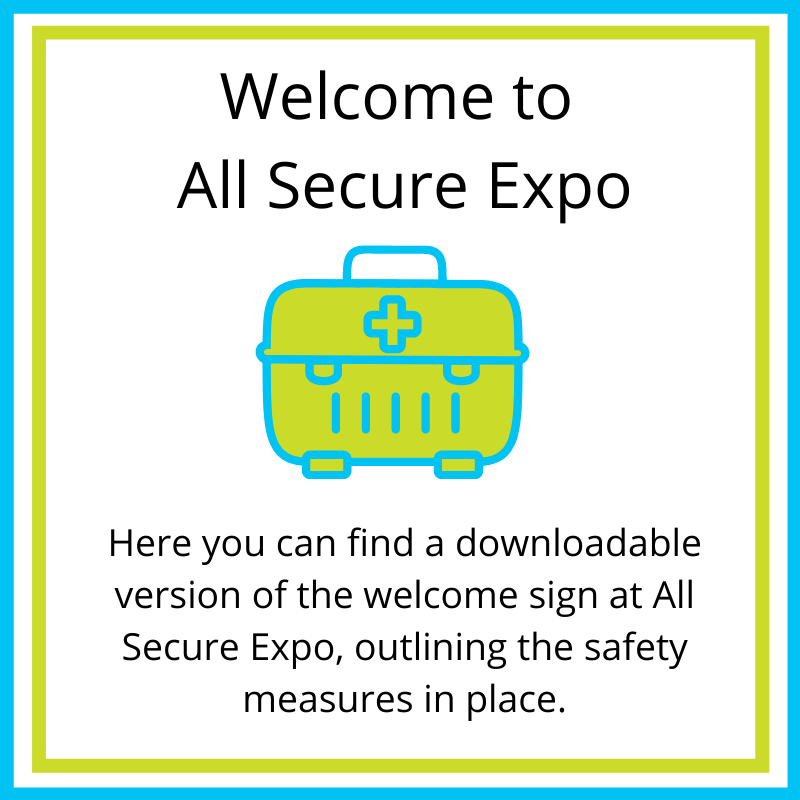 all secure welcome graphics