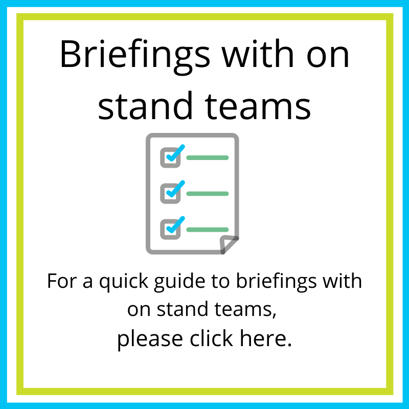 on stand teams guide