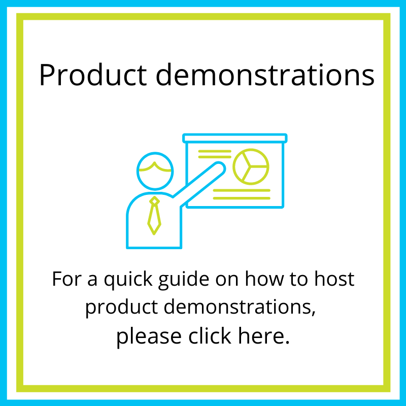product demonstrations guide