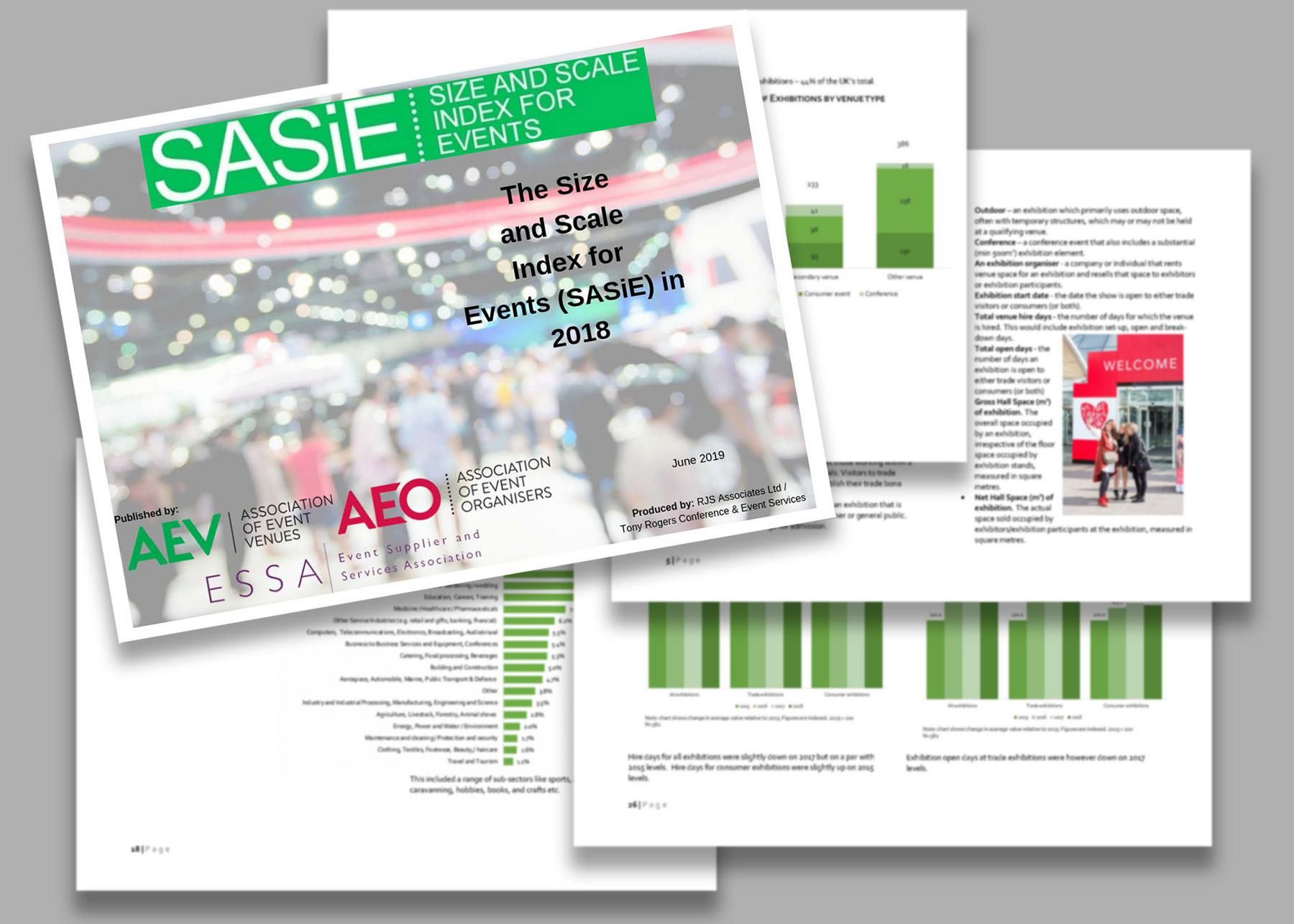 The 5th annual SASiE, shows year-on-year comparisons across key event industry metrics and including detailed trends, analysis and insights from the organiser and supplier sectors, presented by Philip Soar, CEO and executive chairman of CloserStill, and Nick Marshall, executive chairman of GES, respectively.