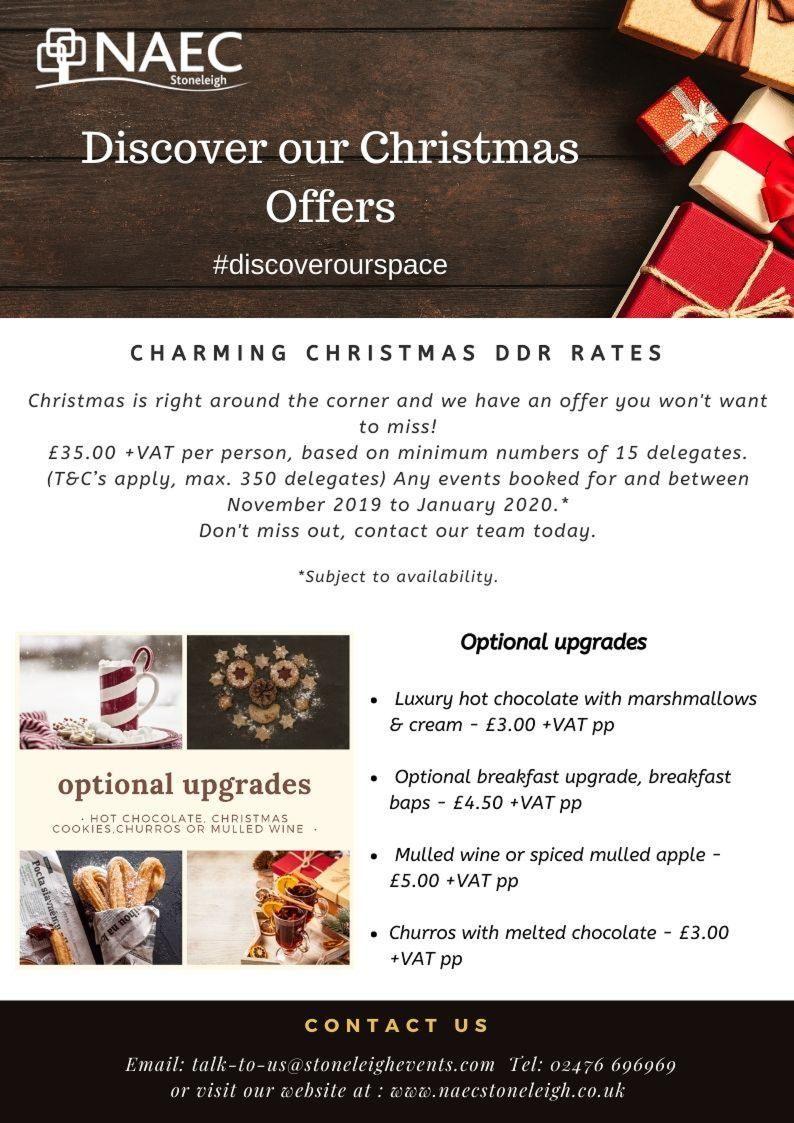 Christmas DDR Offer