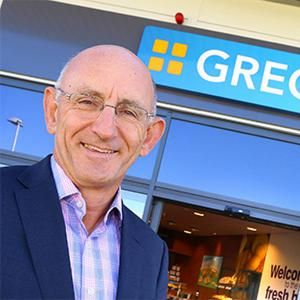 Roger Whiteside, Greggs