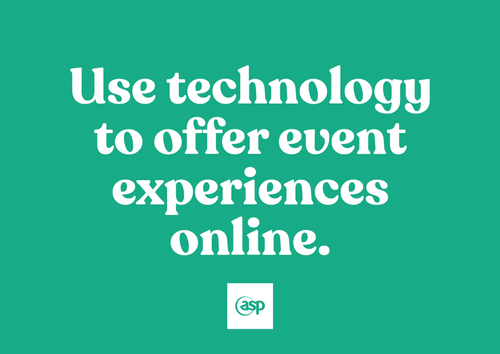 6 Tips on How to use technology to offer event experiences online