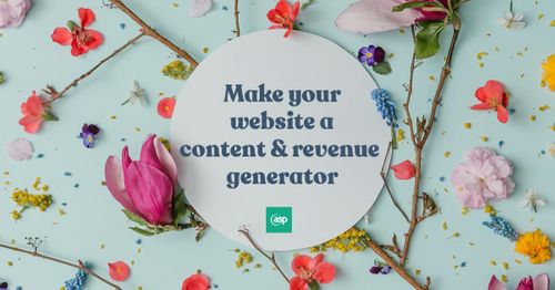 Make your website a content and revenue generator