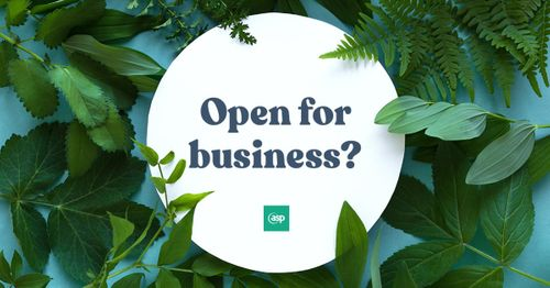 Does your audience know you're still open for business?
