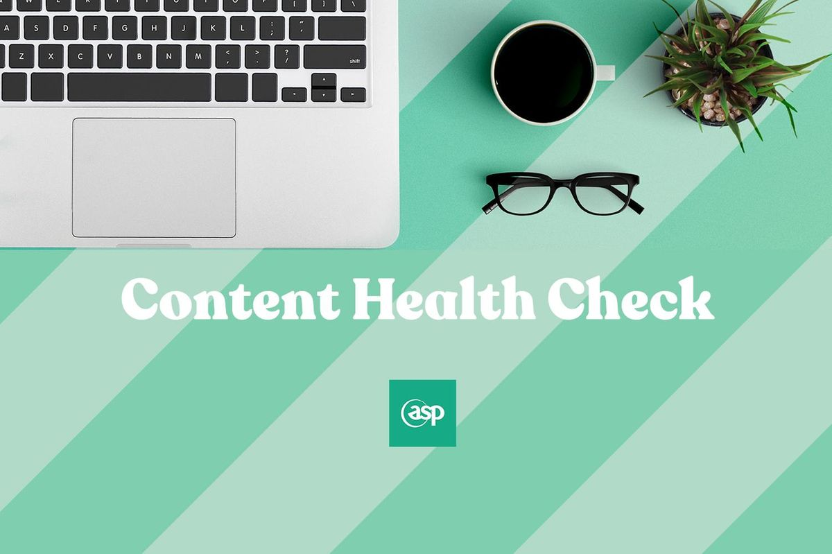 ASP Launch Content Health Check