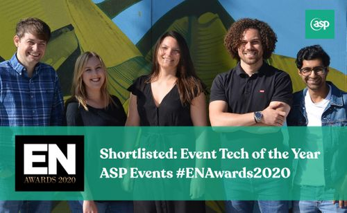 We have been shortlisted for an EN Award - 'Event Tech of the Year' 2020!