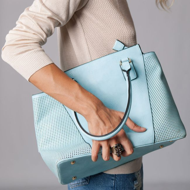 Light Blue Summer Bag