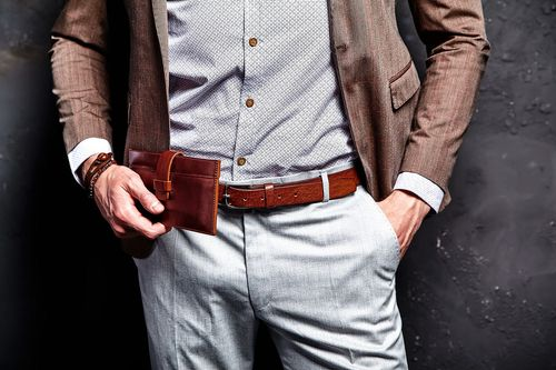 Elegant Brown Suit