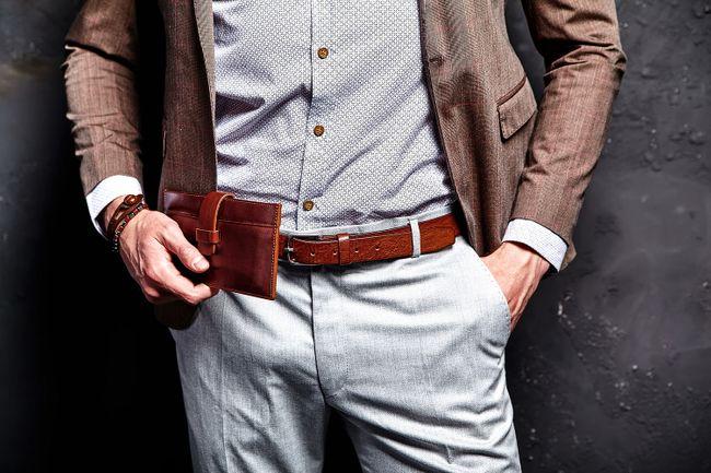 Elegant Brown Suit