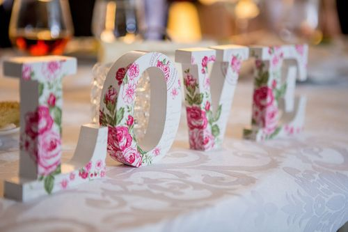 Freestanding Letter Decor