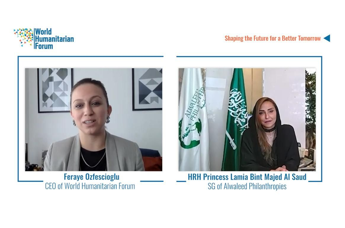 WHF Talks.Live: HRH Princess Lamia Bint Majed Al Saud, Secretary-General, Alwaleed Philanthropies
