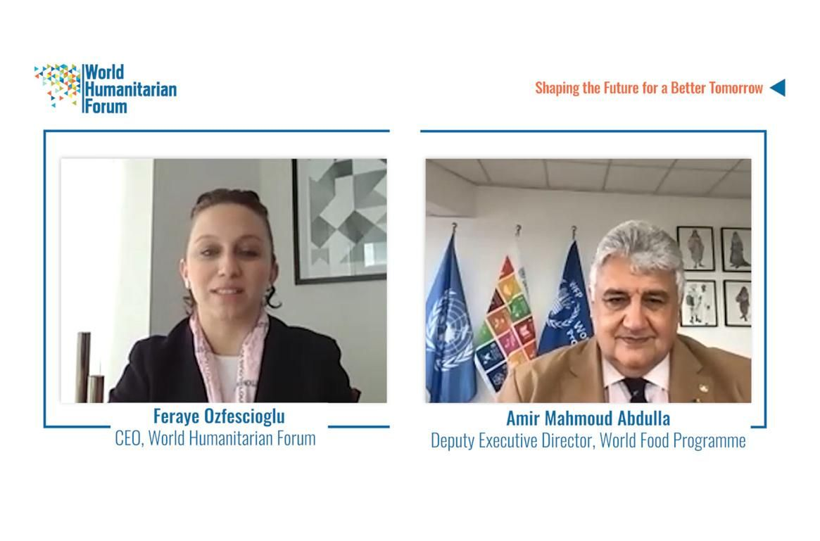 WHF Talks Live- Interview with Amir Abdulla, Deputy Executive Director the World Food Programme
