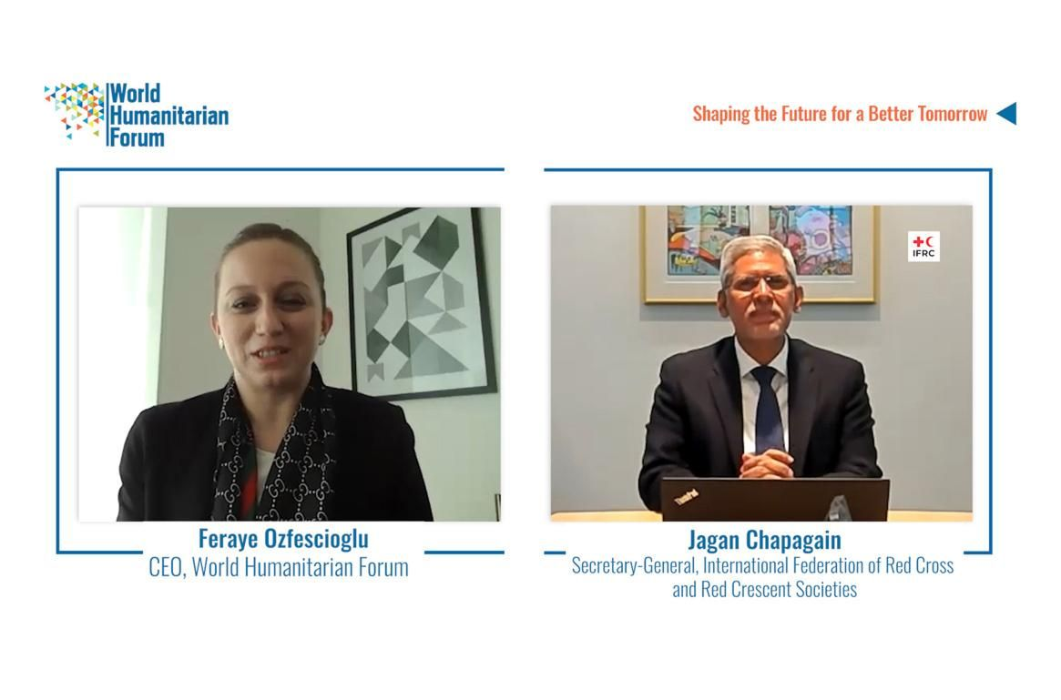 WHF Talks.Live: Jagan Chapagain,Secretary-General, IFRC