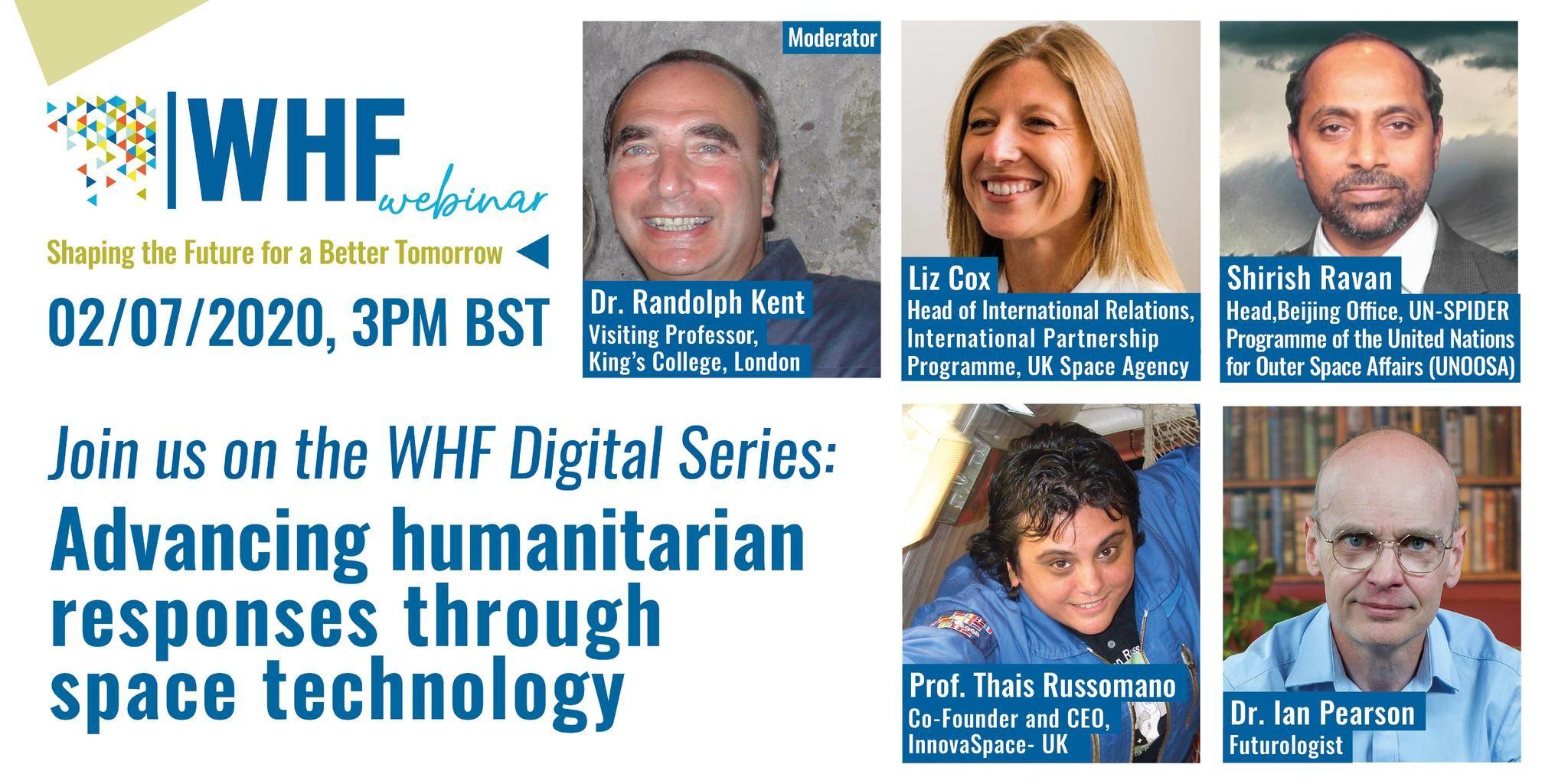 Advancing Humanitarian Responses through Space Technology