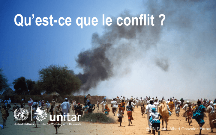 Qu'est-ce ue le conflit ?