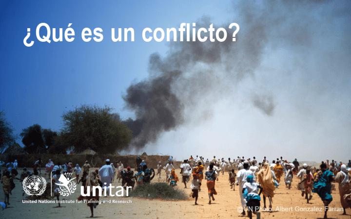 ¿Qué es un conflicto?