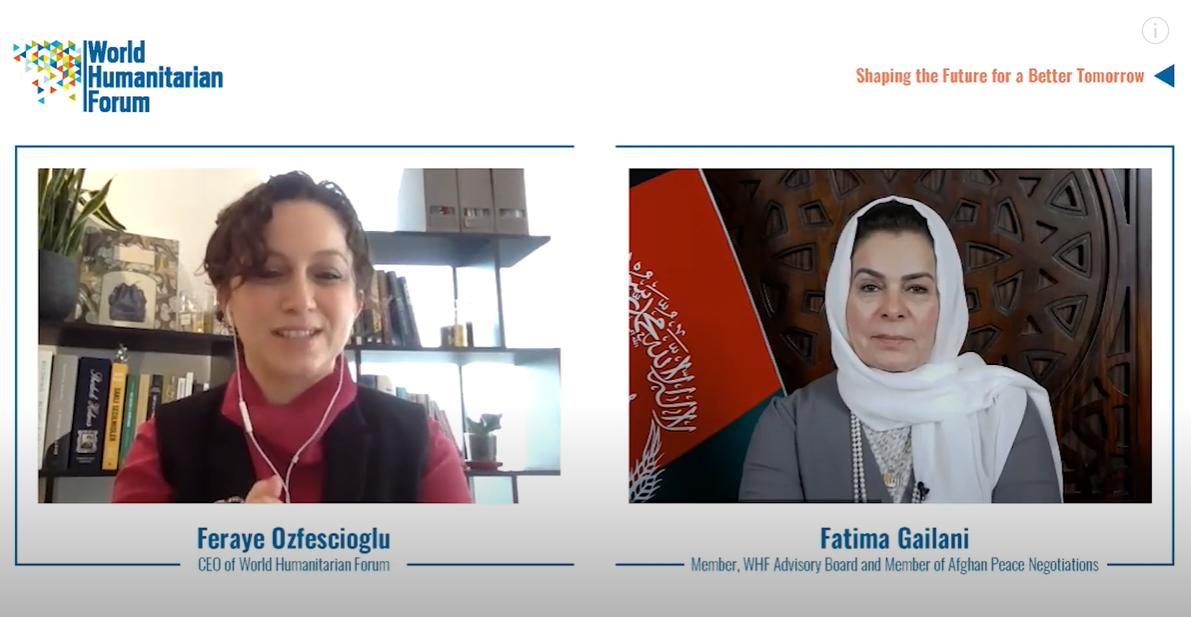WHF Talks.Live Fatima Gailani
