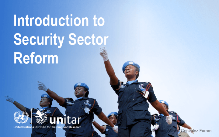 Introduction to Security Sector Reform