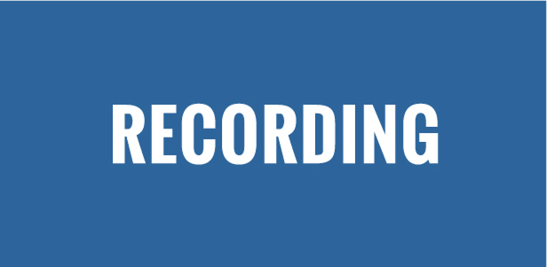session recording webinar youth leadership