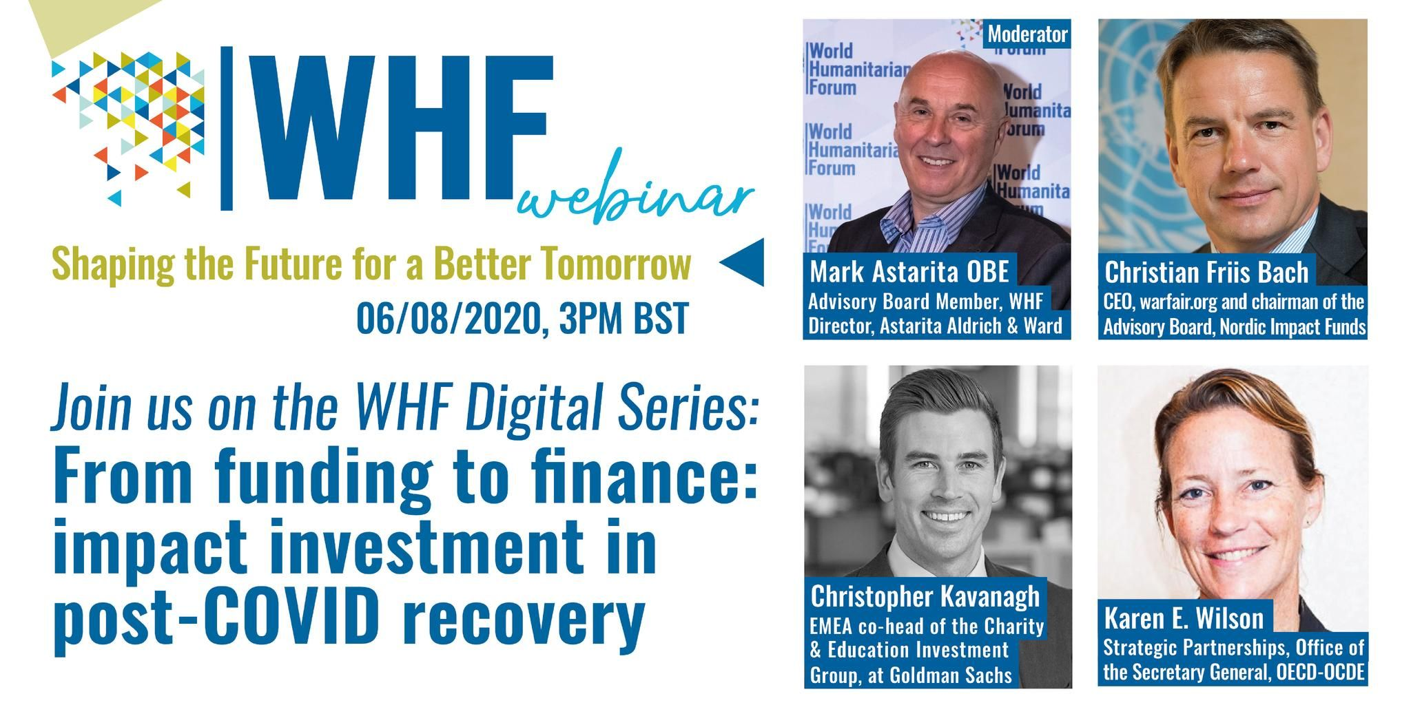 From funding to finance: impact investment in post-COVID recovery