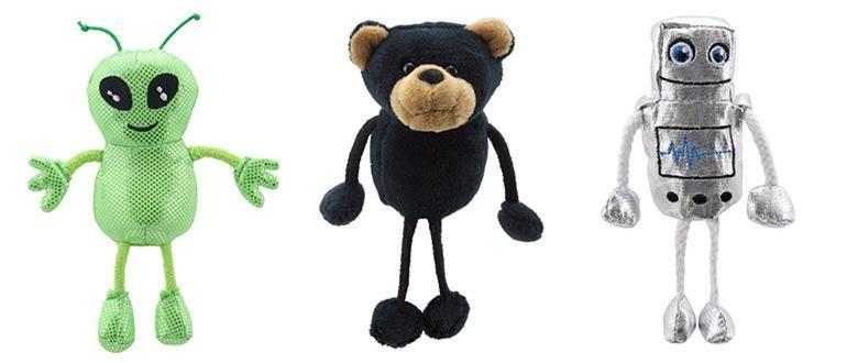 the-puppet-company-finger-puppets-robot-alien-bear
