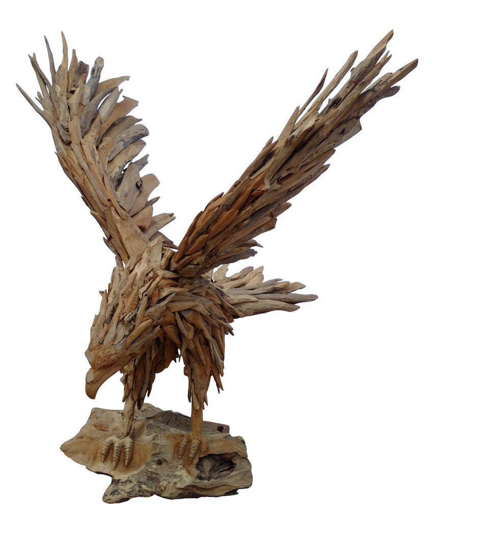 Autumn-Fair---NEC-Birmingham---Makasi-Imports---Wooden-eagle.jpg