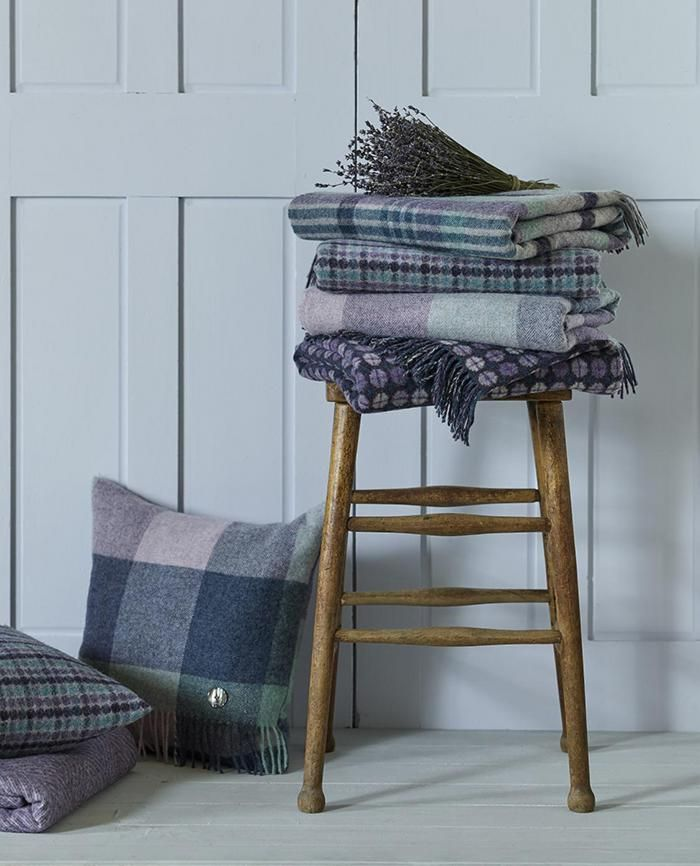 Bronte by Moon- New Purple Heather Throws