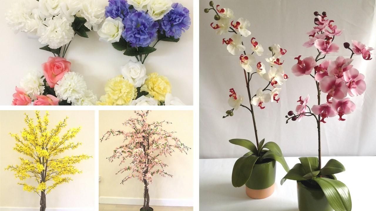 6 Stunning Artificial Flower Wholesale Suppliers