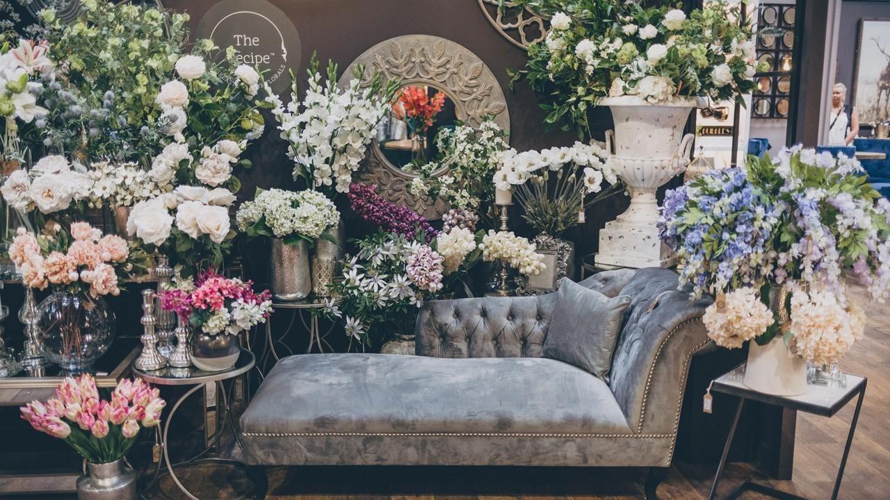 Hill Interiors artificial flowers