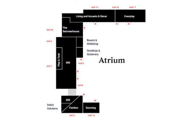 Autumn Fair Floor Plan