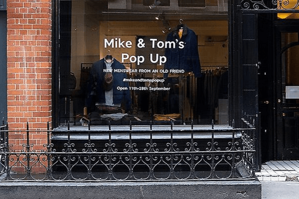 marks and spencers pop up shop