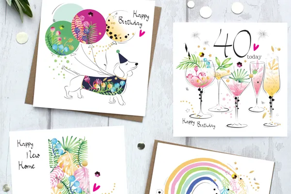colourful greetings cards sabivo