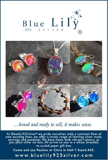Bluelily925silver