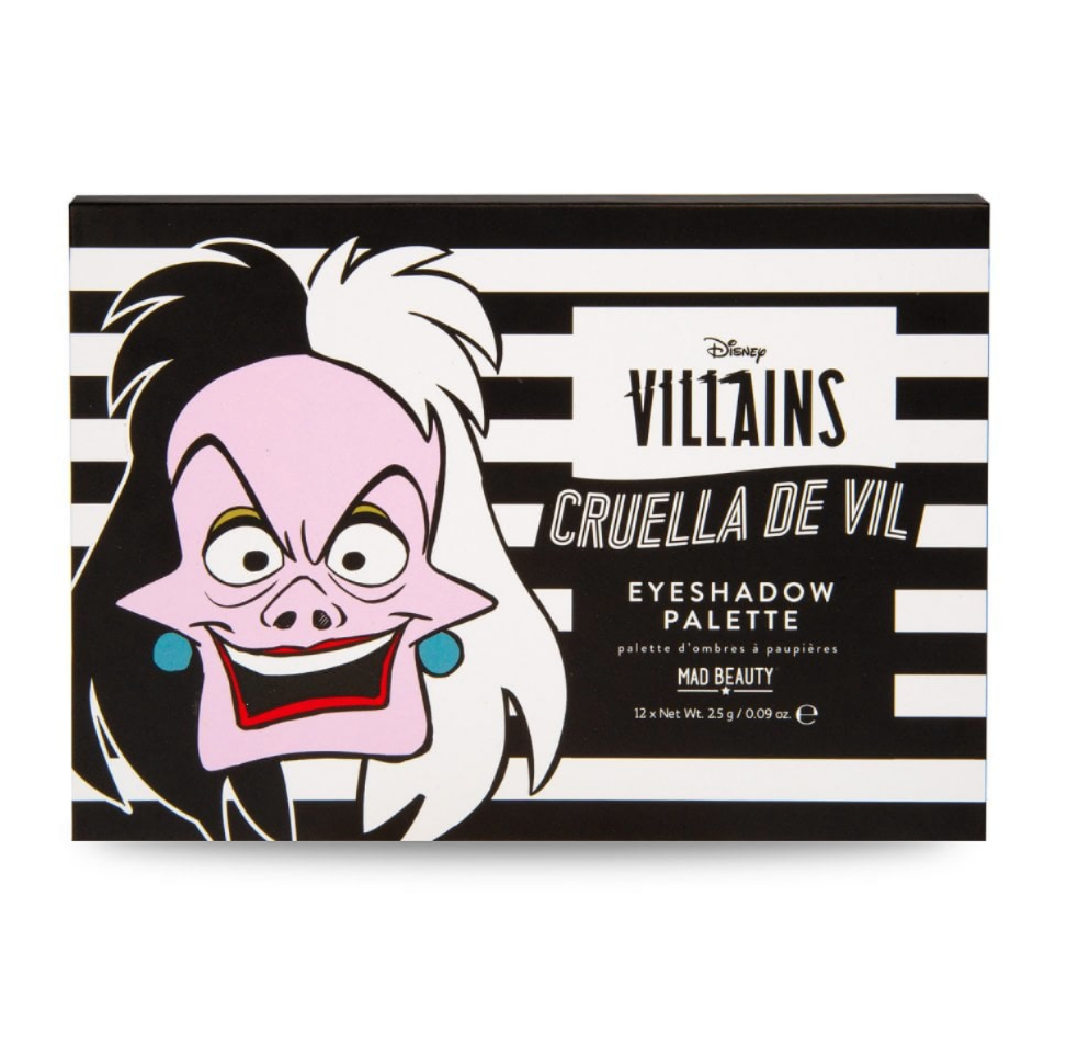 Disney Villains Cruella De Vil Eyeshadow Palette