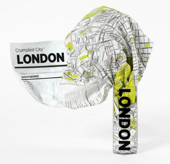 London Crumpled City