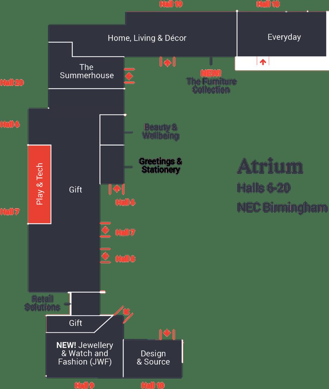 Play & Tech Floorplan