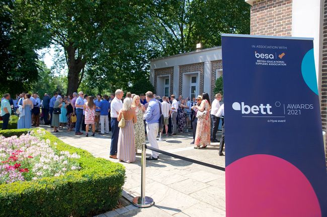 Together again: celebrating the education community at the Bett Awards 2021