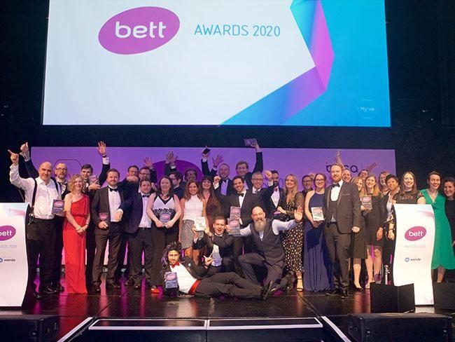 Congratulations to all the Bett Awards 2020 winners!