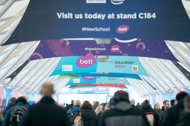 Plan your visit: a local session guide to Bett UK 2020