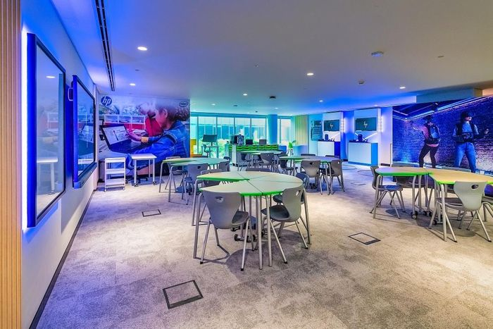 HP   Intel launches 'Innovation Garage' as part of mission to increase education standards globally.
