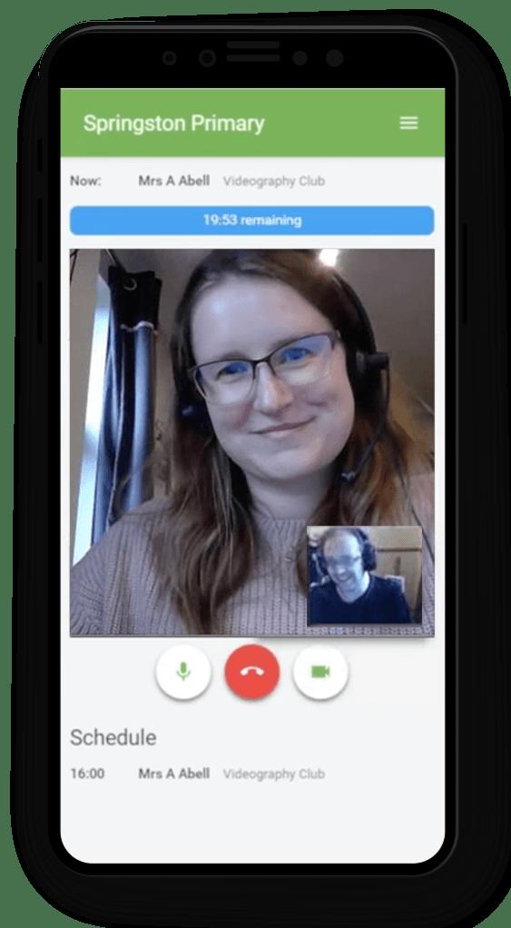 Video Calls for Teachers & Parents