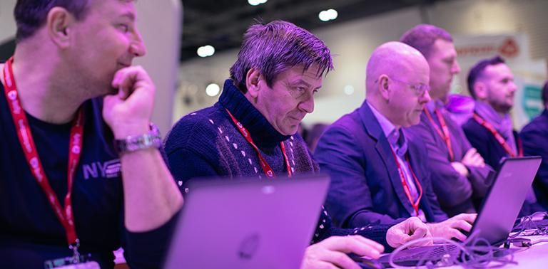 The Microsoft Training Academy was back at Bett!