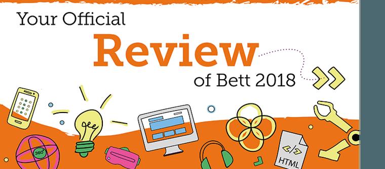 Bett 2018 review brochure