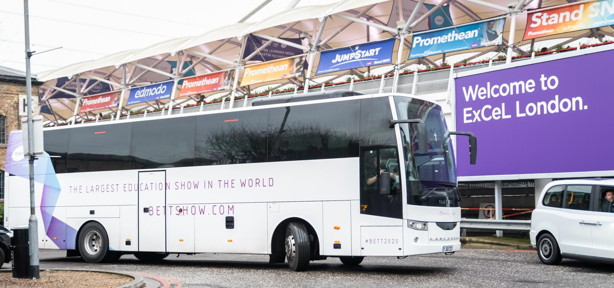All Aboard - the Bett Bus!