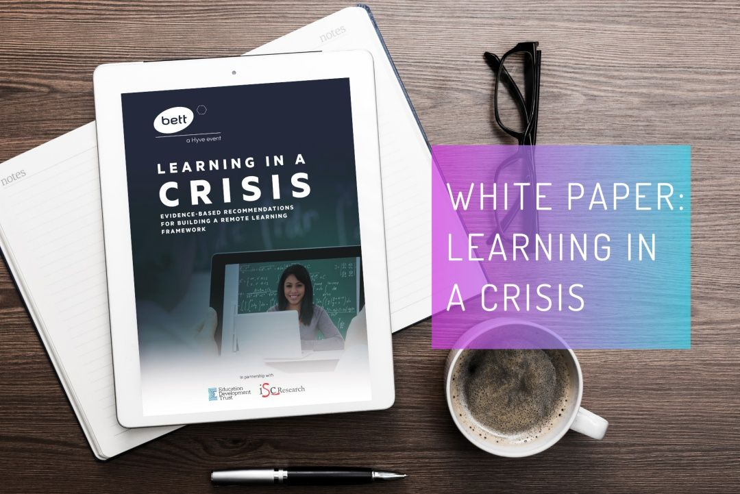 White paper: Learning in a crisis