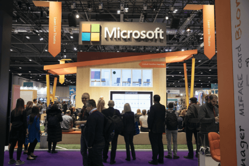 Get hands on and experience Microsoft at Bett